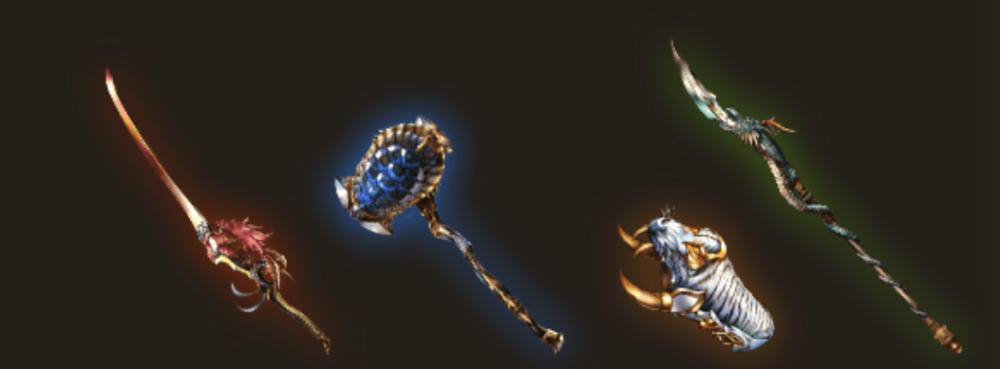 【グラブル】スキル上げをしておくと戦力アップに使える四象武器